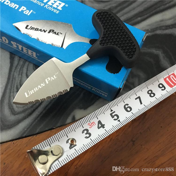 2018 Cold steel mini URBAN PAL 43LS taschenmesser geschenk jagdmesser überleben messer Reparierte klinge messer werkzeuge Kostenloser Versand 1 STÜCKE