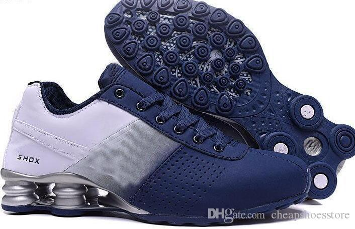 Cheap Men Avenue 802 080 Running Shoes Fashion Leather Chaussure Homme Breathable Athletic Outdoor Sports Sneakers With Box