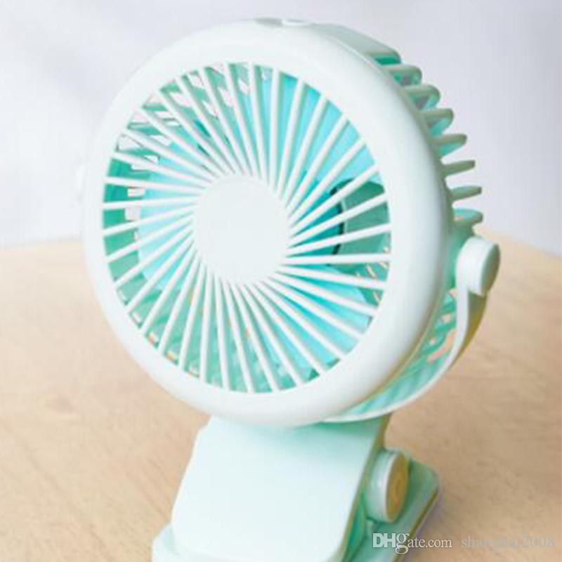 2018 New 360 degree fan USB Desktop Office Students Small Household Cooling Fan USB Mini Portable Clip Fan 3 gear JD-199USB