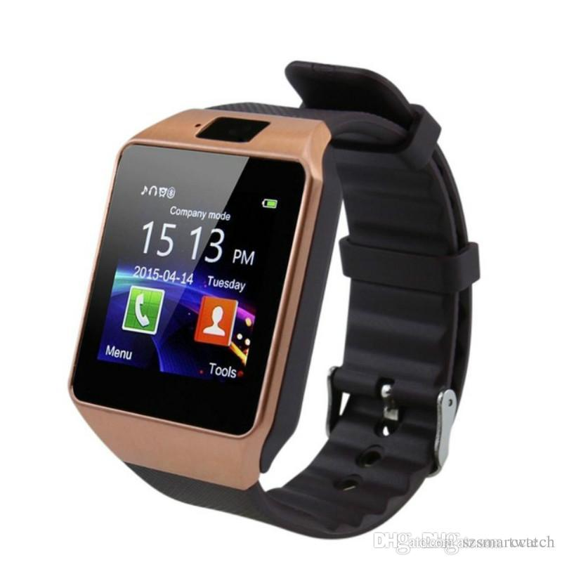 a31d0cbcd6e Bluetooth Smart Watch Smartwatch DZ09 Android Phone Call Relogio 2G GSM SIM  TF Card Camera For Android I OS Phone PK GT08 A1 Smart Watch Men Smart  Watches ...