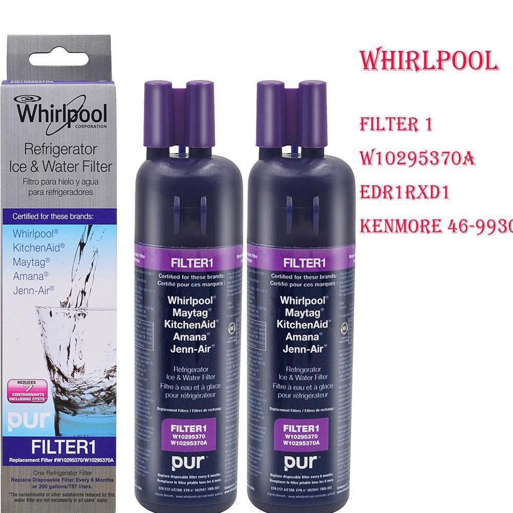 2019 Whirlpool Filter W10295370 Filter1 Kenmore 46 9930 Refrigerator on refrigeror ice water filter, kenmore ice and water filter, kitchenaid fridge filter replacement, whirlpool ice and water filter,