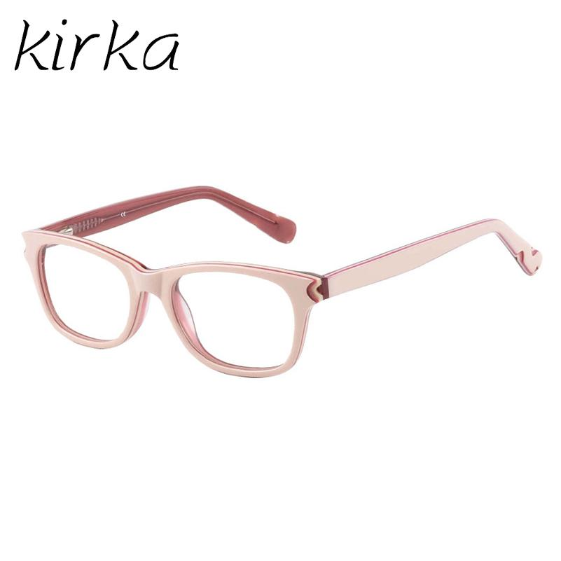 c8e52960ea 2019 Kirka High Quality Brand Acetate Kids Glasses Frame Square Cute ...
