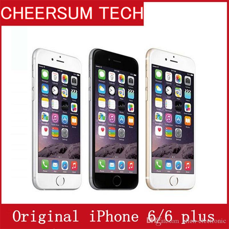 f5bd1657302 Precios De Telefonos Celulares Teléfonos Desbloqueados Apple IPhone 6/6  Plus Celulares De 1GB RAM 16 / 64GB ROM 4.7'IPS GSM WCDMA 4G LTE Restaurado  NO ...