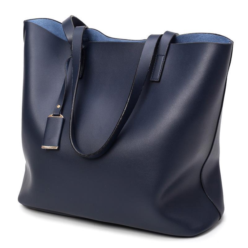 9fb6cd6118 Brand Pu Leather Tote Bag Women Handbags Large Capacity Shoulder Bags  Fashion Designer Lady Purses Crossbody Bag Top-Handle Bags Cheap Top-Handle  Bags Brand ...