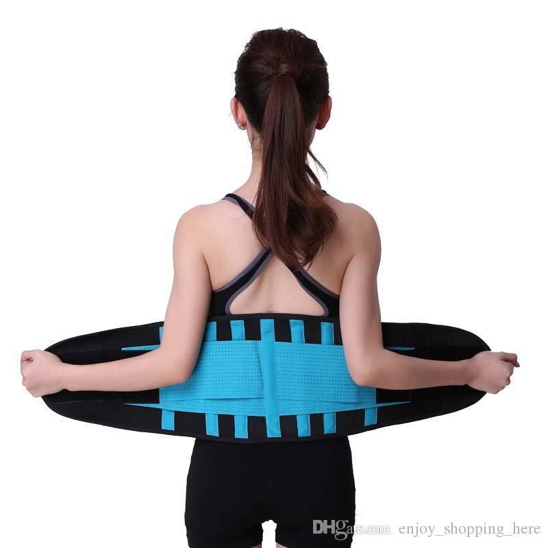 جودة عالية النساء الخصر cinchers مشد للتعديل الخصر المدرب المتقلب حزام اللياقة البدنية الجسم المشكل الظهر دعم لفئة الرملية المشكل