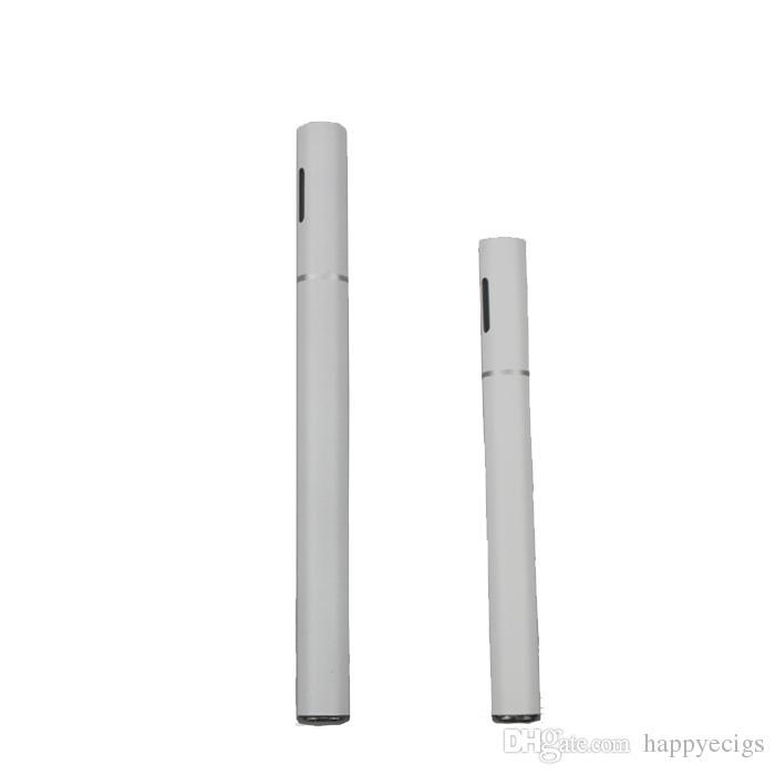 T1 disposable E Eigarettes Disposable 510 Oil Vaporizer With Vapor Pen Single Black ecigs Capacity 0.25ml 0.5ml