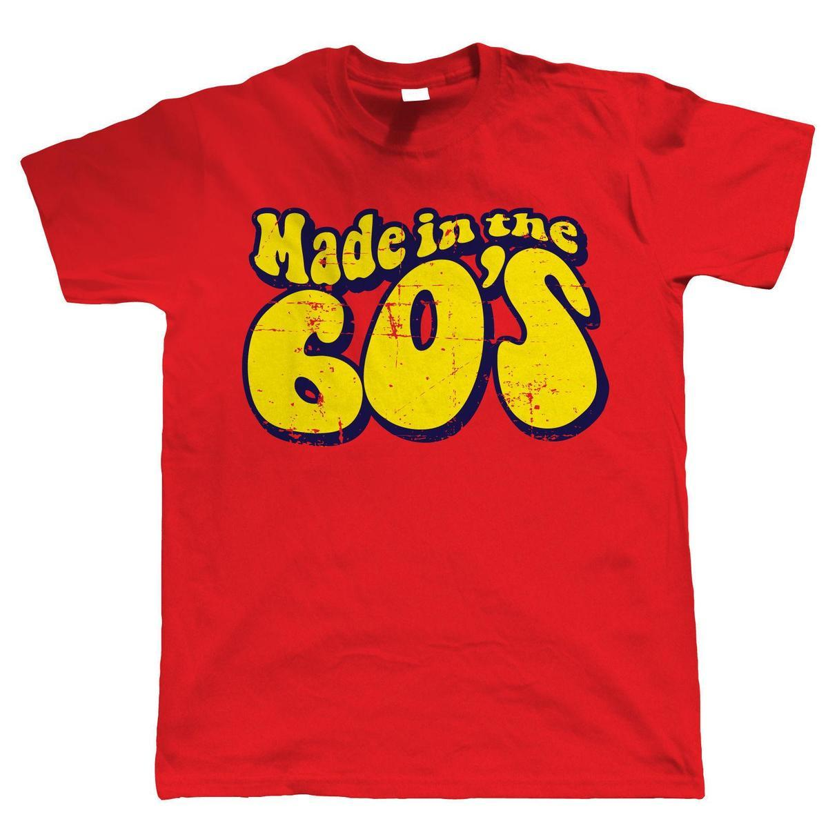 Made In The 60s Mens Funny 50th Birthday T Shirt Tee Designs Neck Shirts From Yuxin009 138