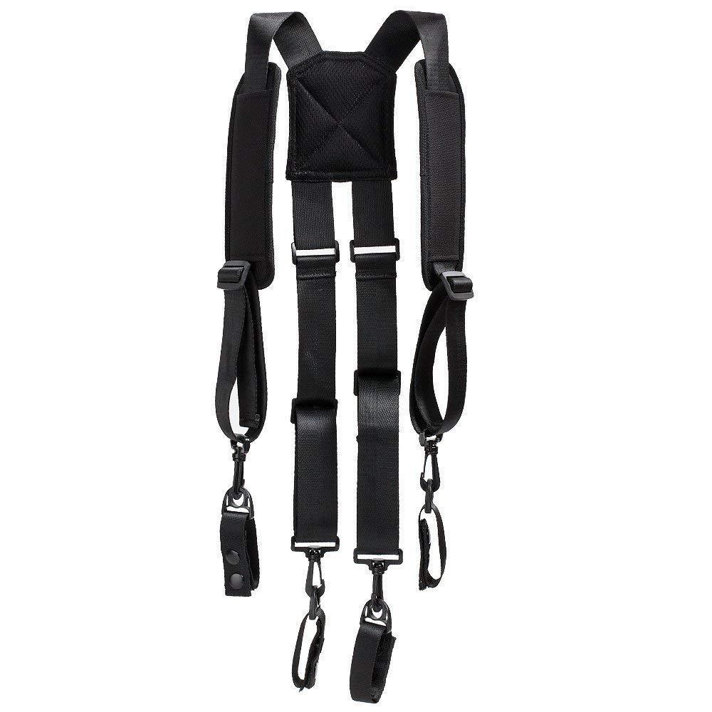 H Harness Duty Belt Suspender Padded Tool Belt Suspender With 4 Loop