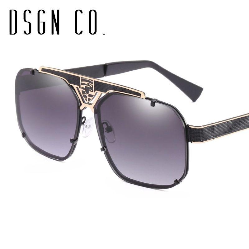 c8e1d65929 2018 Luxury Designer Sunglasses For Men And Women Stylish Square Frame  Fashion Sun Glasses UV400 Cat Eye Sunglasses Round Sunglasses From Dsgn