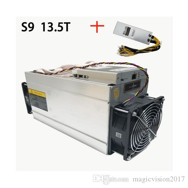 In Stock New AntMiner S9 135T Bitcoin Miner ASIC BTC Bitmain Mining Machine With Power Supply Bitman Online 552764 Piece On