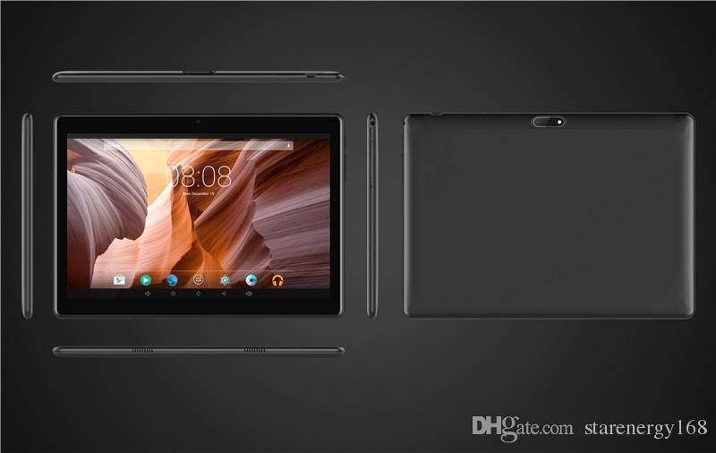 168 de alta calidad 10 pulgadas MTK6580 2.5D glasss IPS pantalla táctil capacitiva dual sim 3G GPS PC de la tableta 10