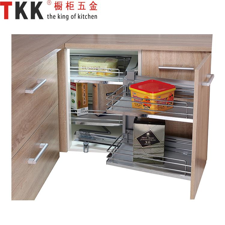 2018 Tkk Gsr 90a Magic Corner Iron Chrome Cabinet Size W900mm Board Basket  Grass Slide Magic Corner Left Or Right Open From Vingo668, $76.26 |  Dhgate.Com