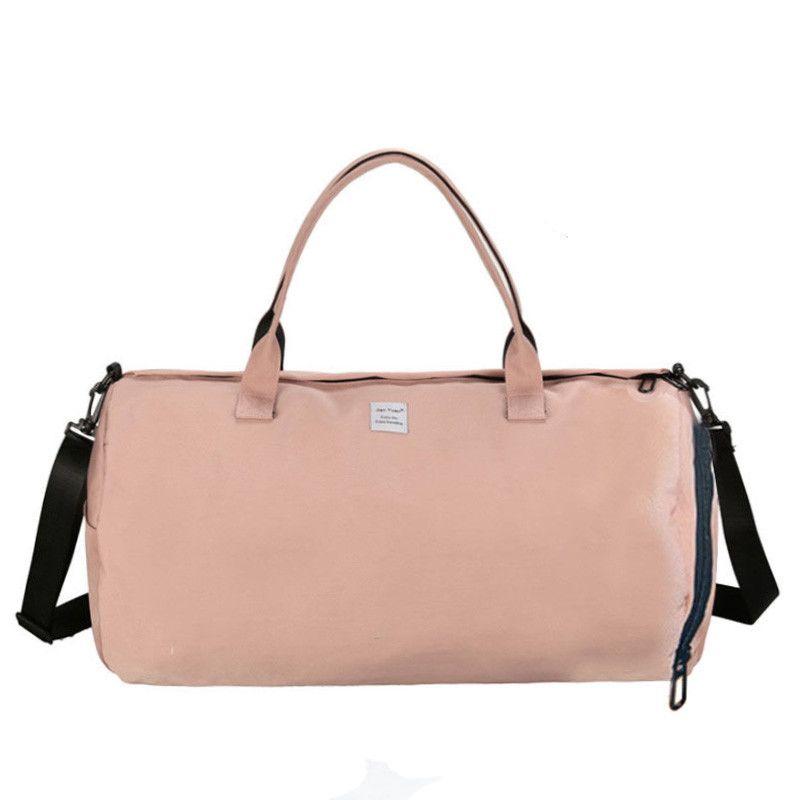 8d42a37838 Canvas Women S Travel Bags Yoga Gym Bag For Fitness Shoes Handbags Shoulder  Crossbody Pouch Women Men Sac De Sport Pack XA488WA Yoga Supplies Uk Yoga  Mat Uk ...