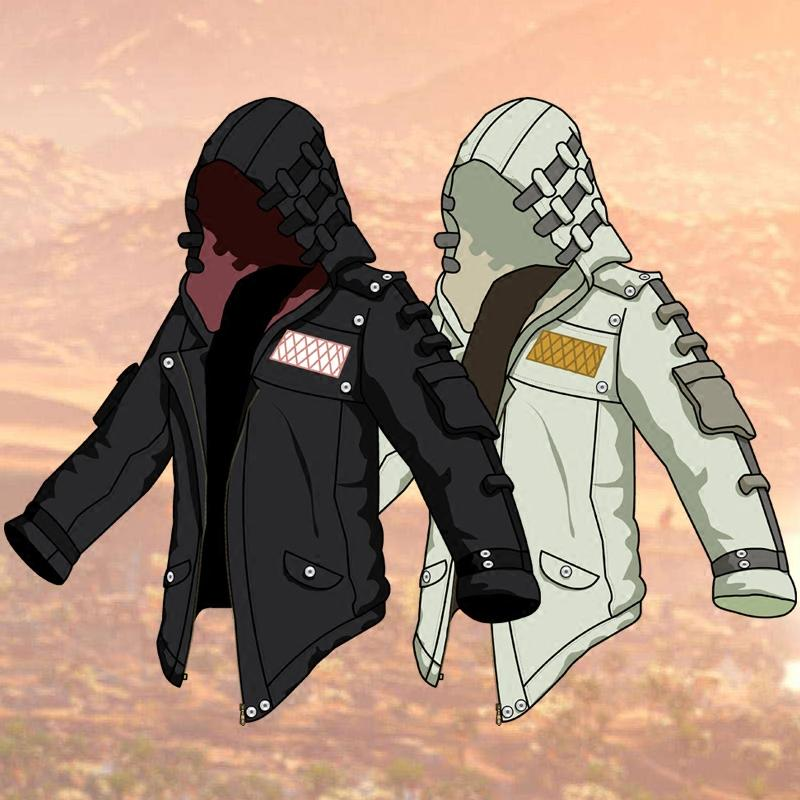 0085023c7d3a4 Acquista Assassins Creed Anime Felpa Con Cappuccio Uomo Assassin Creed  Vestiti 2018 Moleton Masculino Anime Con Cappuccio Giacca Cappotto  Allentato Con ...