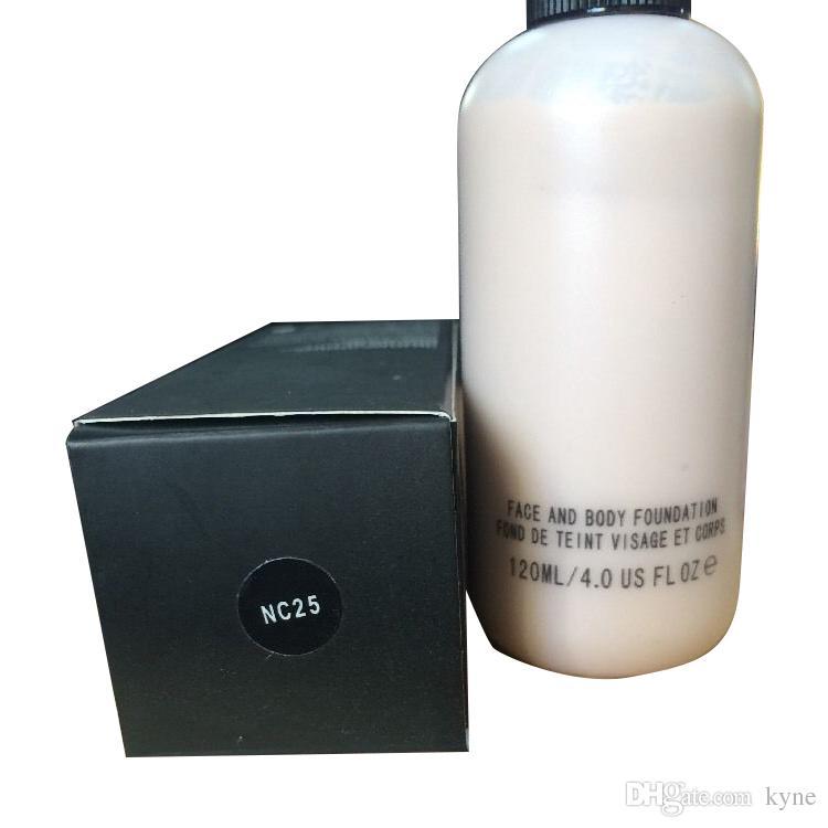 2019 HOT Vendedor Maquiagem Rosto E Corpo Fundação FOND DE TEINT VISUAL ET CORPS 120 ml DHL
