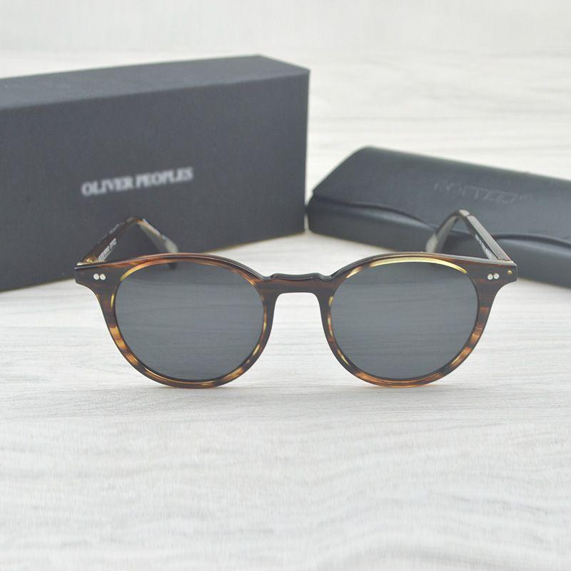 73915bfa0e Fashion Round Glasses Oliver Peoples Delray Sun Glasses Vintage Male Female  OV5318 Oval Sunglasses Brand Designer Men Women Victoria Beckham Sunglasses  ...