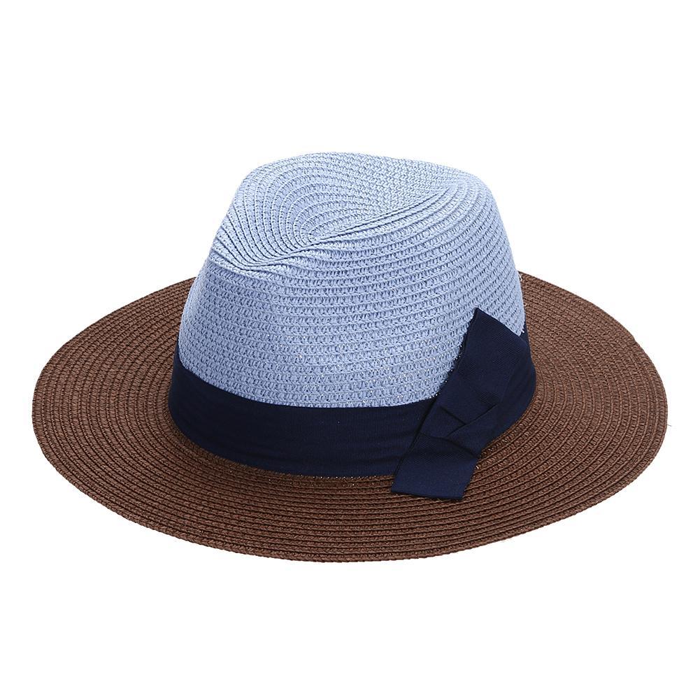 Acquista Cappello Di Paglia Delle Donne Pieghevole Ampio Brim Floppy Lady  Summer Spring Beach Vacanze Al Mare Foto Elegante Ragazze Casual Paglia  Sunhat ... 3acdbfe9f940