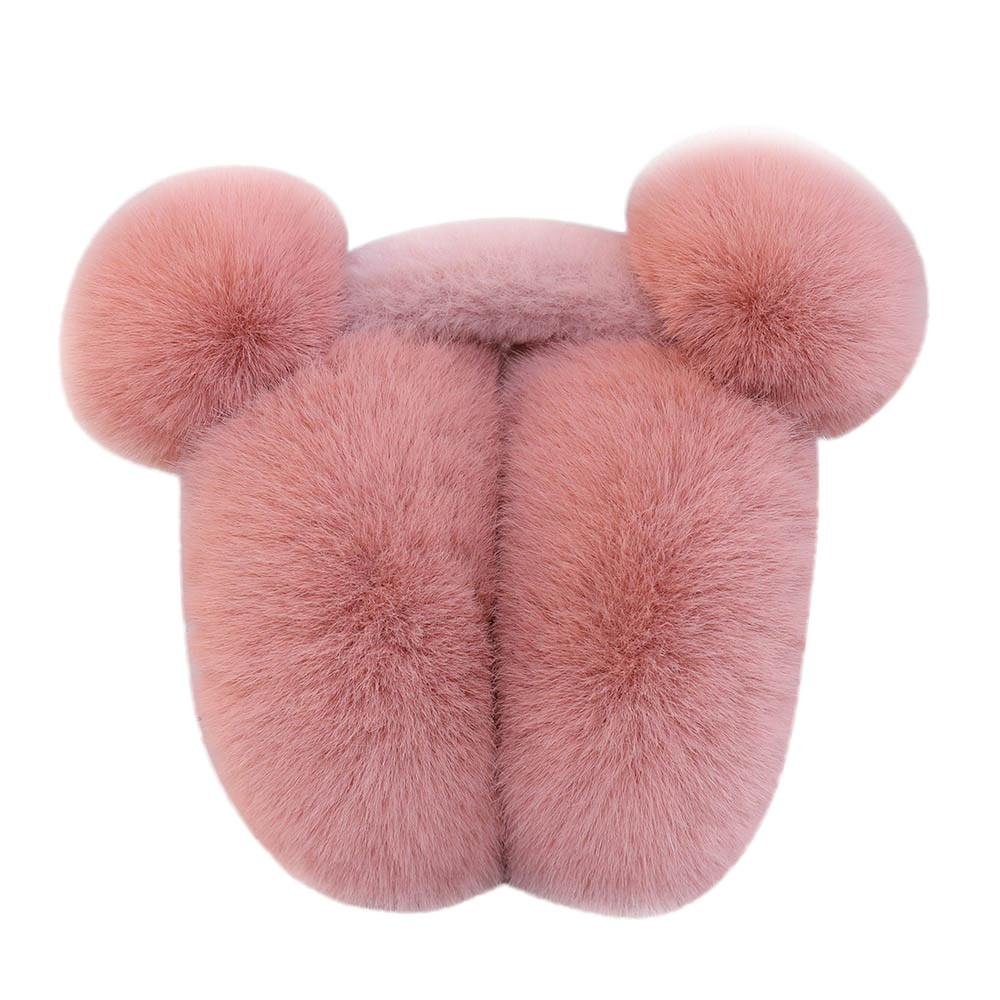 winter women Earmuffs Ladies Earmuffs Adjustable Furry Ear Muffs Comfy Soft Snow Outdoor Winte