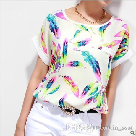 gran colección siempre popular la compra auténtico Tamanho grande T-Shirt XL Imprimir Camisetas y Tops Casual Mujer Roupas  Baratas China Roupas de Verão Moda camiseta Mulheres Tops Tee