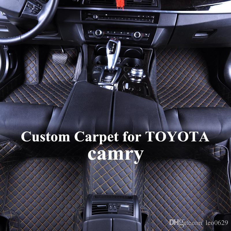 2019 Wholesale Custom Car Floor Mats For Toyota Camry 2004 2007 2008