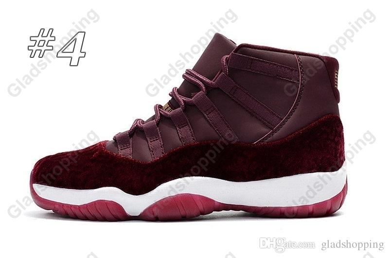 With Box 11 Gym Red Chicago Midnight Navy WIN LIKE 82 96 Space Jam 45 Mens Basketball Shoes 11s Heiress Sport Sneakers
