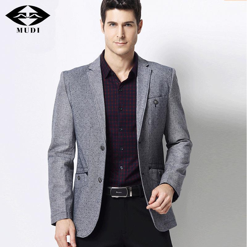 Compre MUDI Nuevo Otoño Estilo Negocios De Lujo Traje Casual Hombres Blazers  Set Vestido De Boda Formales Profesionales Hermoso Diseño Tamaño M 3XL A   77.27 ... 6d483a1df20b