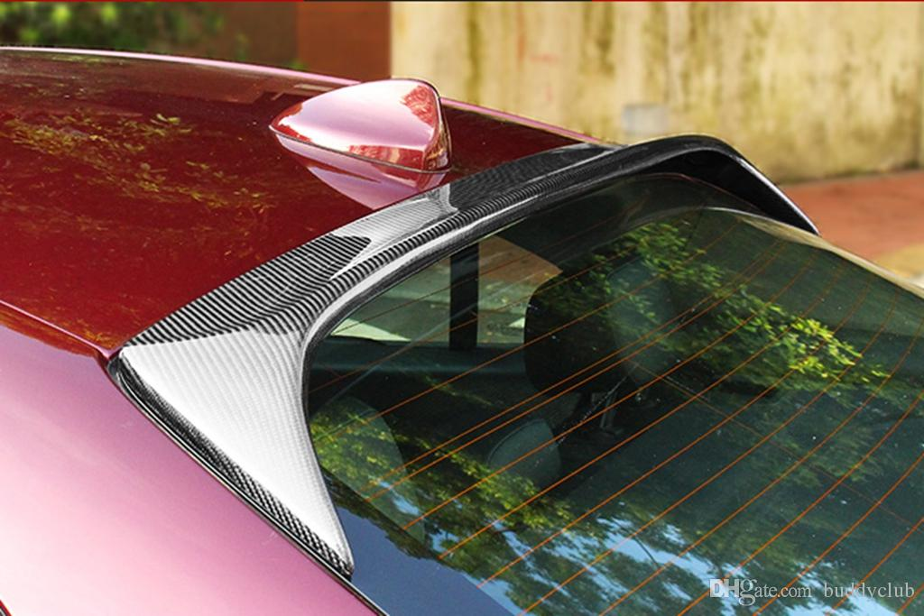 Carbon Fiber Roof Spoiler One Pc Big Style Compatible For Alfa Romeo
