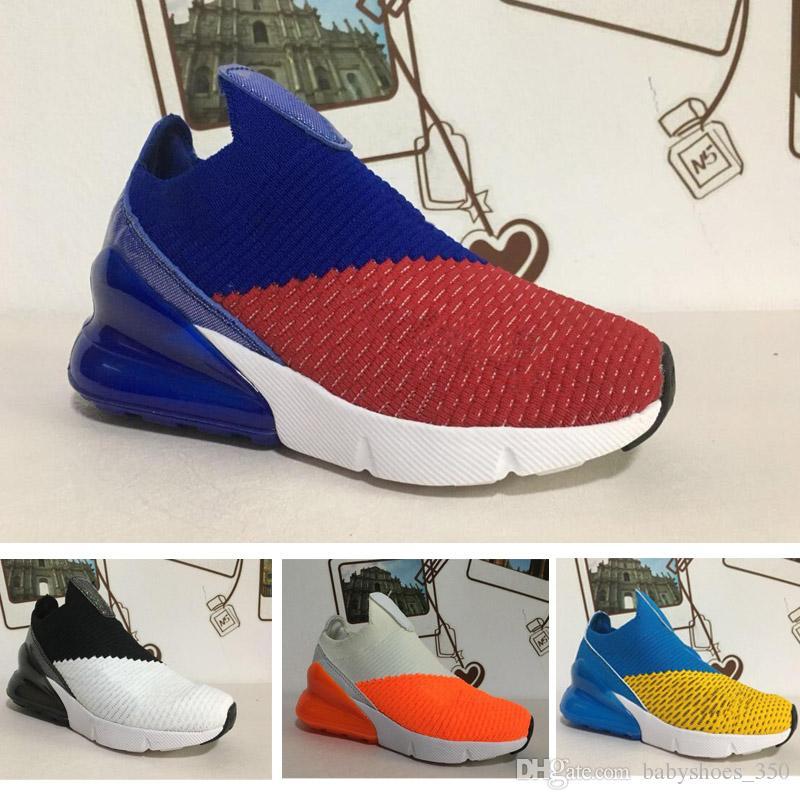 save off 27be9 9b2e8 shop acheter nike air max 270 27c infant 270 enfants chaussures de sport  noir blanc dusty