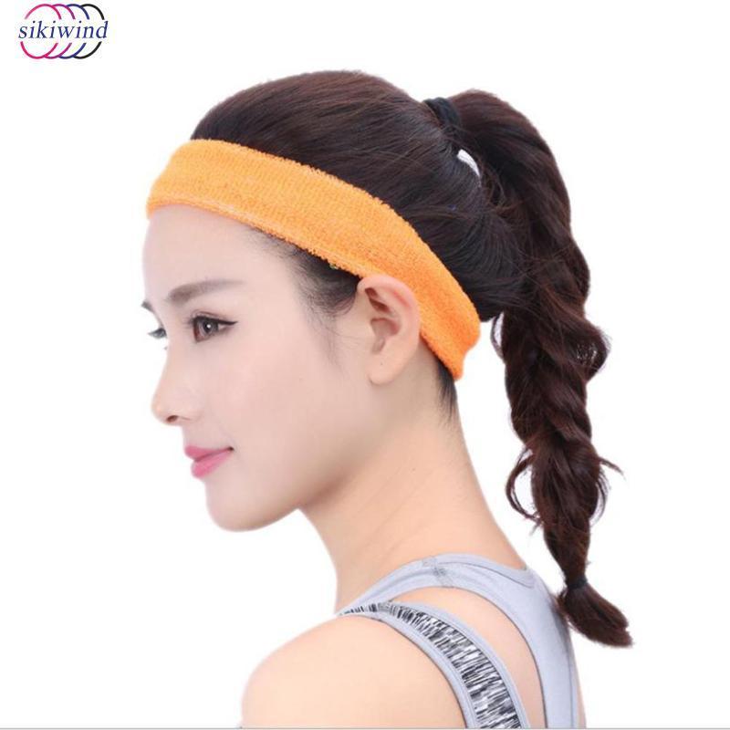 1a6188a847b8 2019 2018 Hot Sale Sports Yoga Gym Stretch PU Headband Head Band Hair Band  Sweat Sweatband Mens Women Unisex Yoga Accessories From Masn