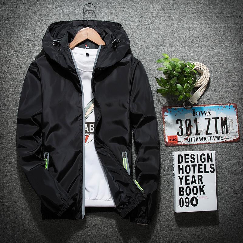 a135d8944b7b Luxury Mens Jacket Coat Autumn Windrunner Jackets Brand Designer ...