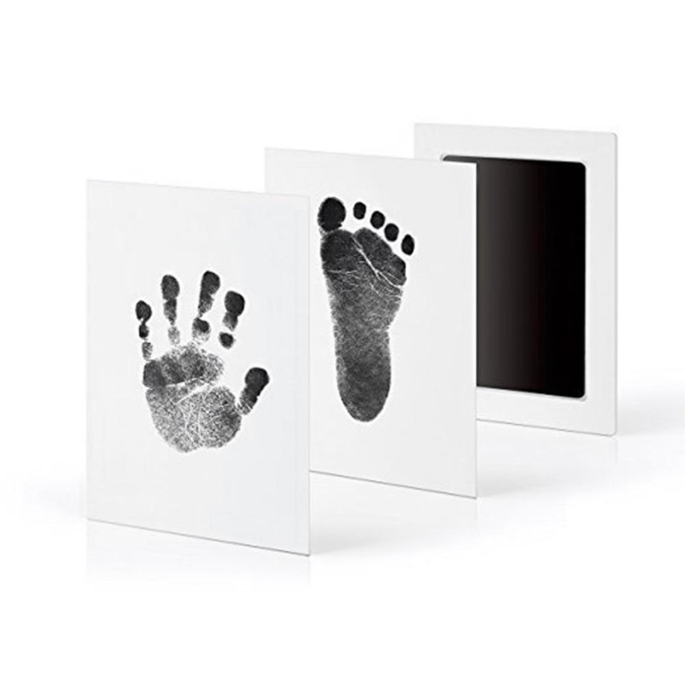 Satın Al Yenidoğan Bebek Handprint Ayakizi Yağ Ped Boyama Mürekkep