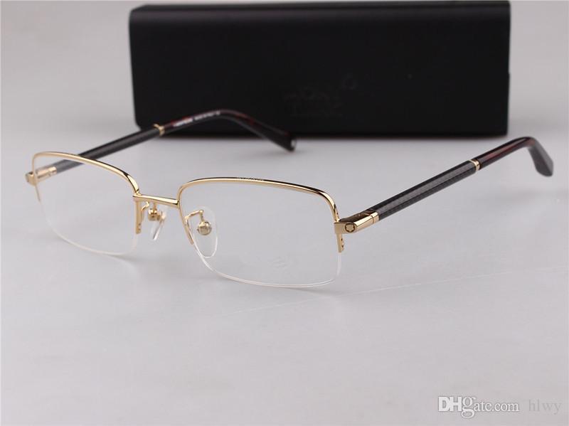 MB Brand New Eye 149 Lunettes Cadres pour Hommes Lunettes Cadre Or Argent TR90 Optique Verre Prescription Lunettes Full Frame