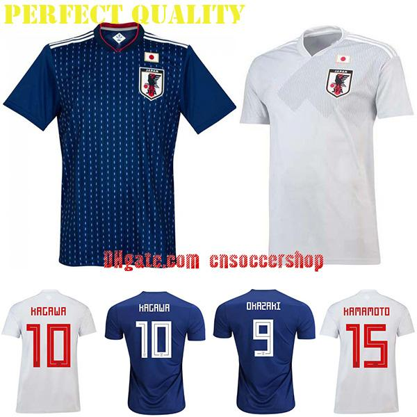 c7bb64cb6 Japan Soccer Jerseys 2018-2019 World Cup Jersey Japan Football Shirt ...