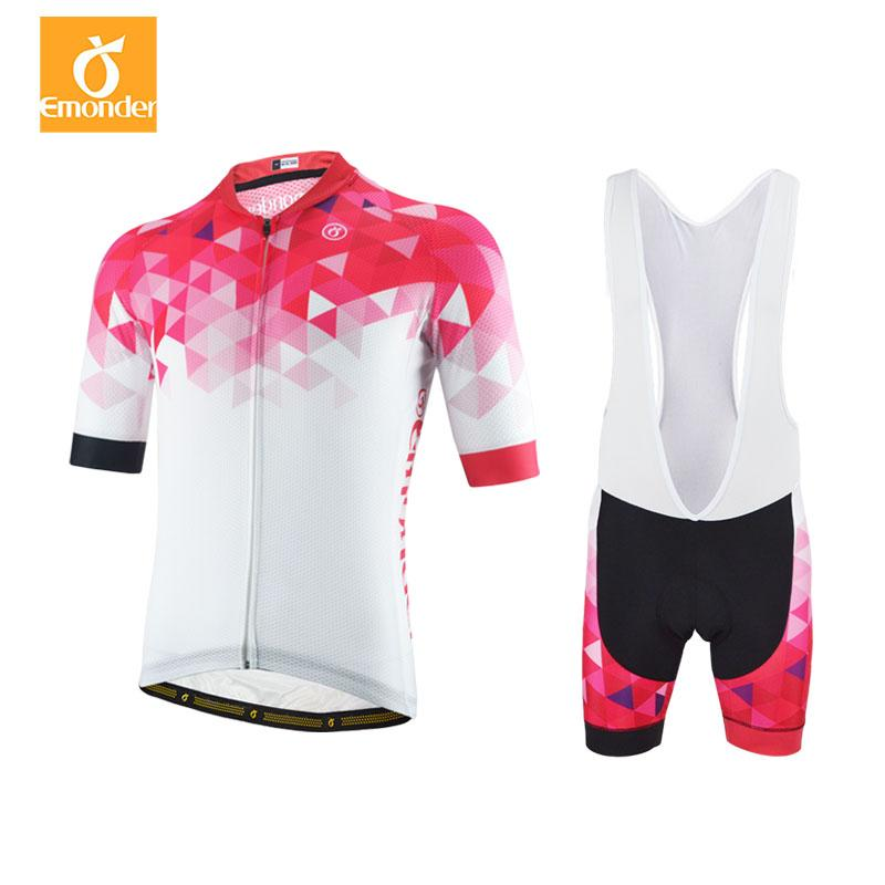 32680e9bc EMONDER Brand New Cycling Jersey Set Summer Short Sleeve Sportswear High  Quality Custom Bike Cycling Clothing Ropa Ciclismo Mountain Bike Shorts Mtb  Shorts ...