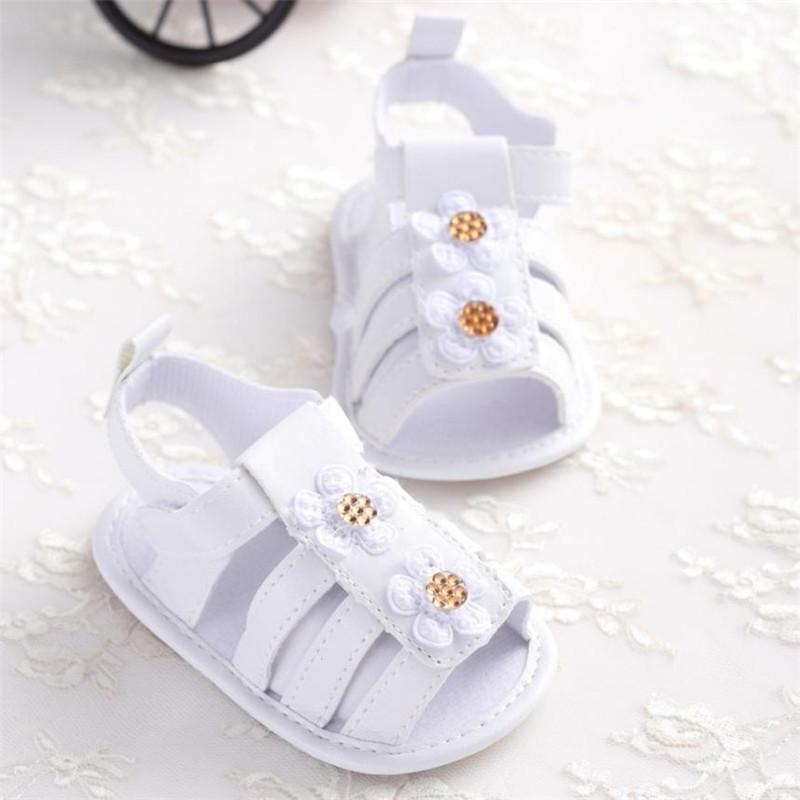 23565ee0931f Toddler Girl Crib Shoes Newborn Flower Soft Sole Anti Slip Baby Sneakers  Sandals Flip Flops Flat Heels Soft S3APR6 Buy Boys Sandals Cheap Boys  Sneakers From ...