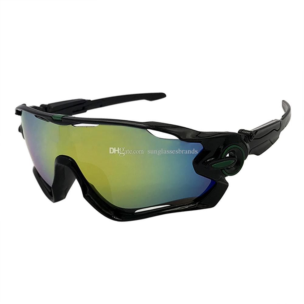 c0e11952ead7 Luxury Designer Sunglasses Fashion Sports Brand Mirror JoawBoreaker Sun Glasses  Black W  Fire Iridium Lens OK68 Sunglasses For Women Cat Eye Sunglasses  From ...