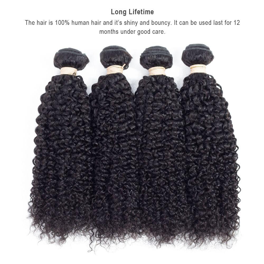 Brazilian Straight Human Hair Bundles Body Wave Deep Wave Kinky Curly Hair Weft Peruvian Indian Malaysian Unprocessed Human Hair Extensions