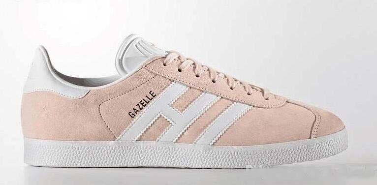 2018 Unisex GAZELLE Classic Casual Flat Shoes Suede Sneakers Outdoor Lightweight Men Women Zapatillas Walking Hiking Shoes 36-44
