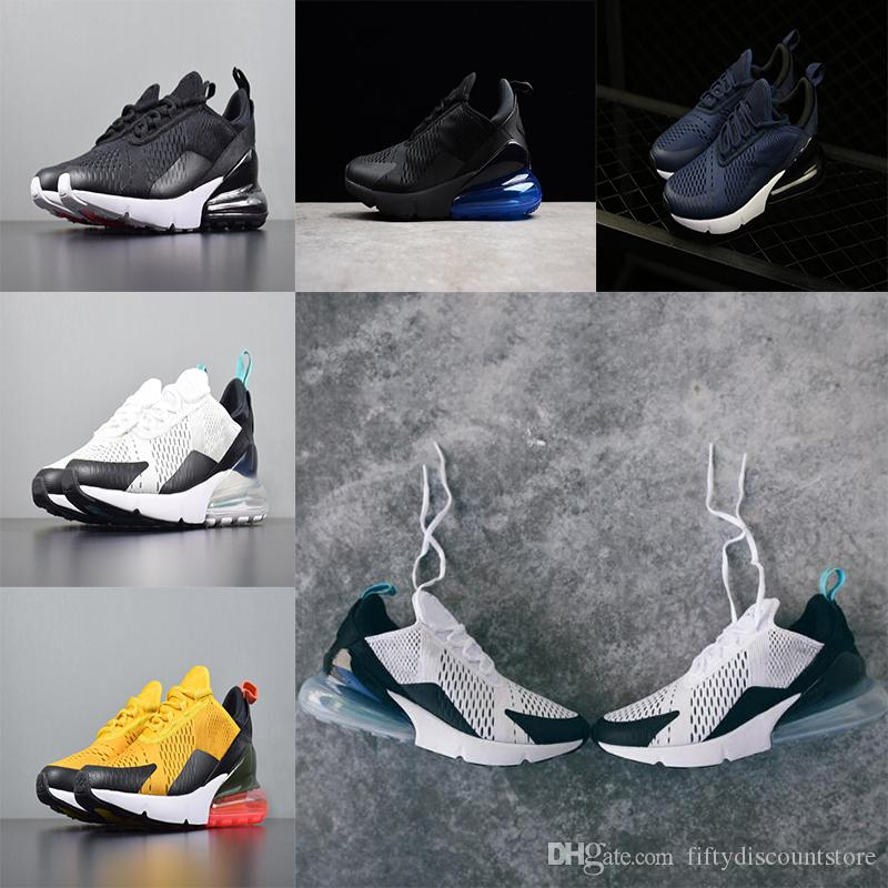 wholesale 2018 high quality 270 Men Shoes and Women shoes 270 Black White casual outdoor walking shoes size 36-45 free shipping shop cheap online JT91FvV