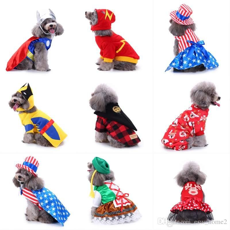 winter dog halloween costume christmas dog clothes for dogs winter dog coat pet clothing for small doggy clothes puppy christmas clothes costume halloween