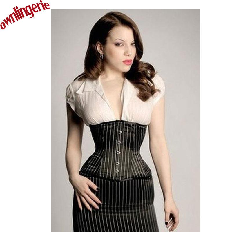 8771fd54ed 2019 Are Mixed Office Style Waist Trainer Tummy Slimming Corset Hook  Front