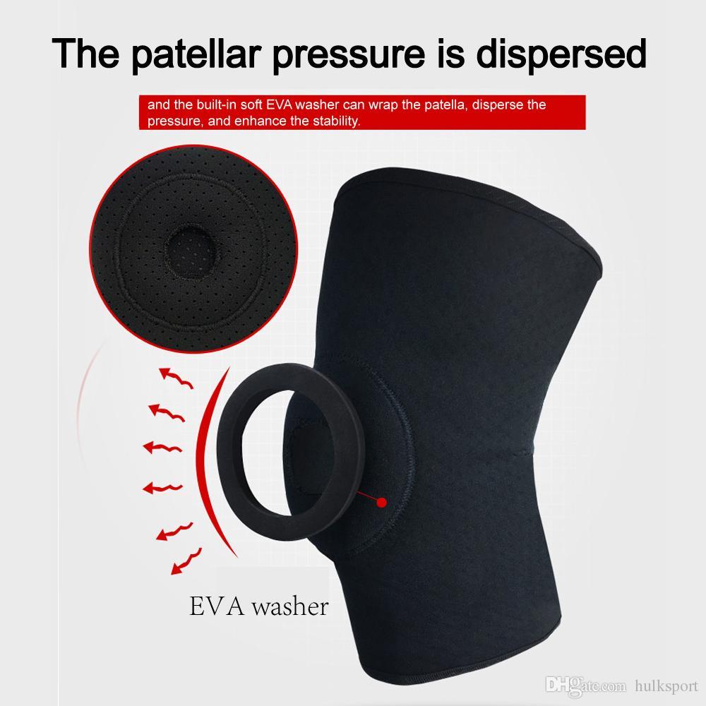 Chegada nova cinta de joelho para menisco lágrima lesão no joelho protetor protetor de joelho recomendando weightlifting adequado para homens, mulheres, unisex