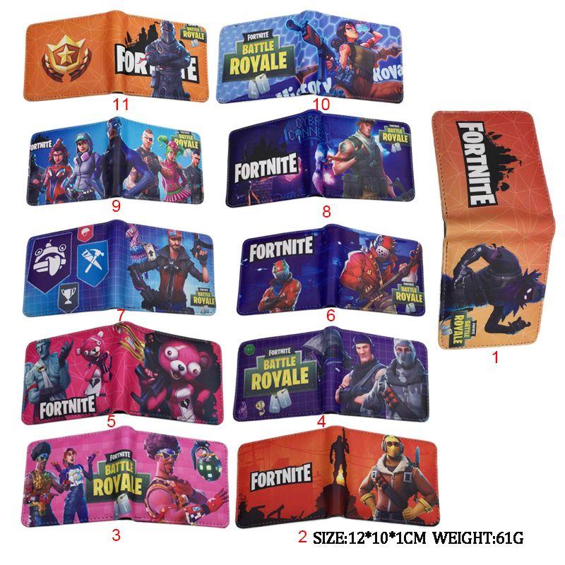 Game Fortnite Men S Wallet Credit Card Holder Coin Pocket Short