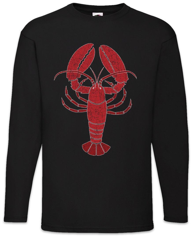 Hummer I Männer Langärmeliges T-Shirt Fisher Gone Bone Fisch Sea Redneck  Hillbilly | hummer i