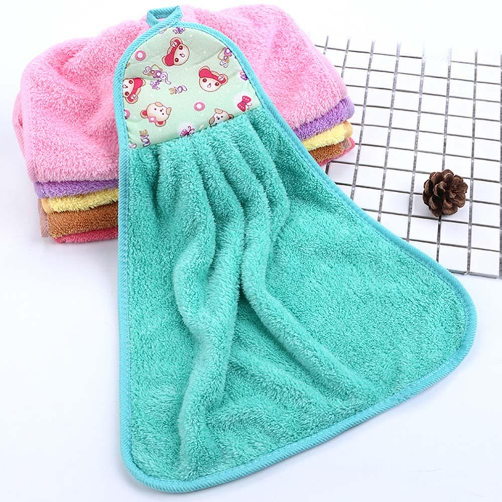 Hand Tower Cartoon Bear Towel Hand Dry Towel Clearing Colorful ...