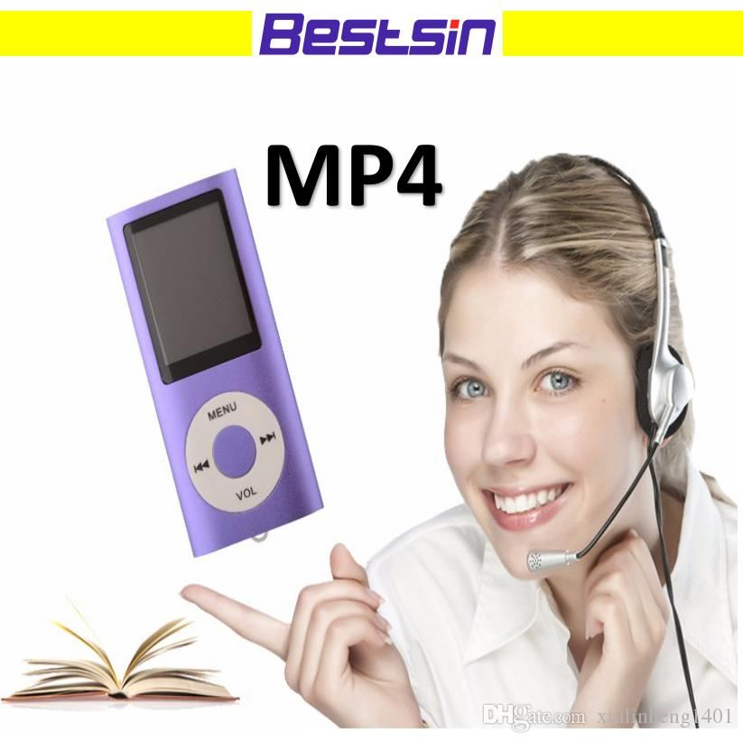 Bestsin Hot Sale MP4 Player with 1.8 inch LCD display Support TF Card Play Music Nice Gift For Friend FM Radio