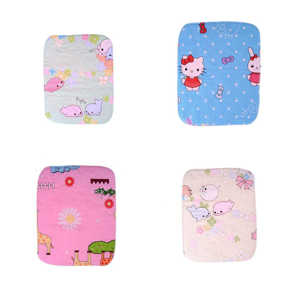 Mother & Kids Baby Mattresses For Girls Boys Cartoon Cotton Soft Cute Urine Pad Infant Diaper Waterproof Bedding Changing Cover Pad 2pcs