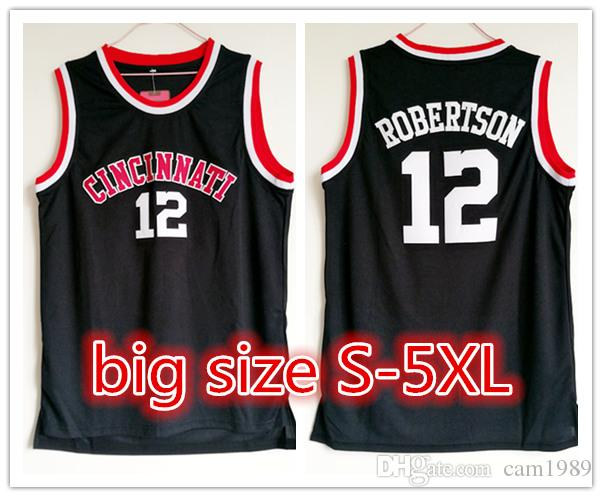 8434f47673f 2018 Customized NCAA Cincinnati Bearcats #12 Oscar Robertson ...