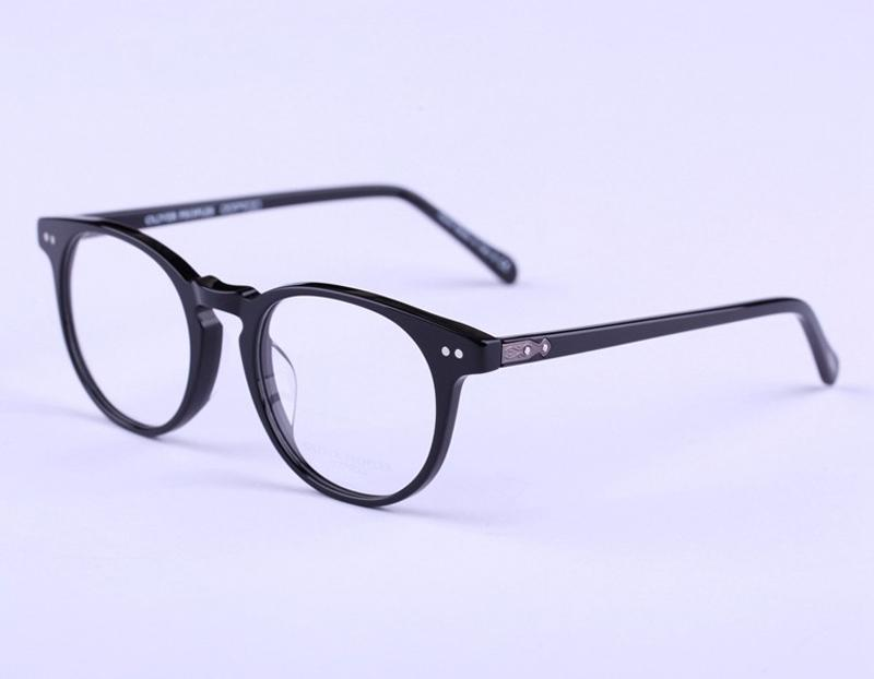 1060d51c28 2019 Clear Spetacle Eyeglass Frame Oliver Peoples Sir O malley Optical Eye  Glass OV5256 Round Reading Glasses Frame Men Women From Alley66