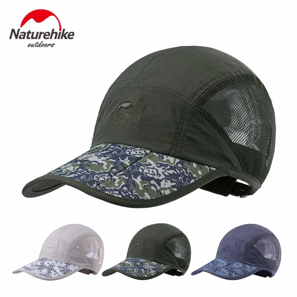 cac6ab7e723659 2019 NatureHike Outdoor Summer Sunscreen Breathable Sports Hiking Cap Men  Women Travel Anti UV Climbing Camping Hat Foldable From Youtuo, $65.31 |  DHgate.